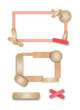 Page of Peachy keen Band-aid borders