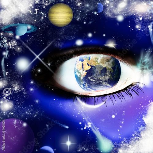 l'universo nell'occhio