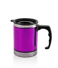 metal purple cup