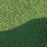 Artificial grass fake turf synthetic lawn field macro closeup poster