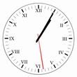 Horloge 1h05