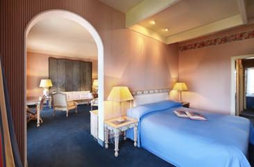 modern suite in hotel