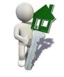 Figur mit Haustürschlüssel - 34053134