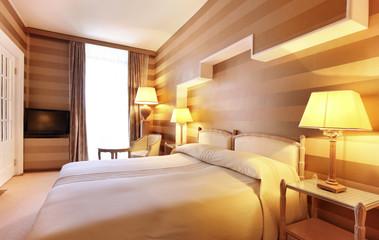camera da letto di hotel