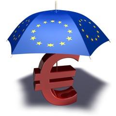 Rettungsschirm für den Euro
