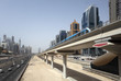 Dubai Metro Line along the Sheikh Zayed Road