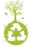 Recicle para uma natureza melhor poster