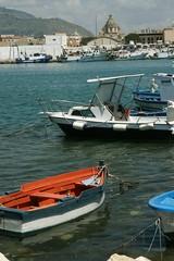 Trapani, porto, imbarcazioni e panoramica