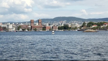 Oslo from sea