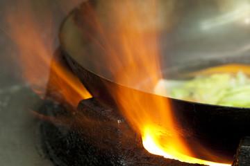 中華料理の炎