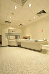 Sala d'ospedale per esami TAC