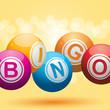 3d bingo background - 34059701
