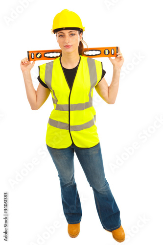 Woman Construction