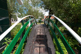 wooden footbridge