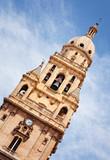 Torre-Campanario an der Kathedrale von Murcia, Spanien poster