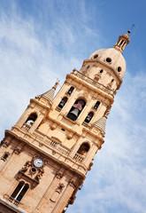 Torre-Campanario an der Kathedrale von Murcia, Spanien