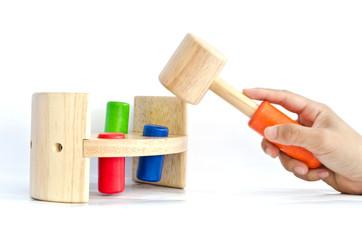 Hand Hammer knock for kid