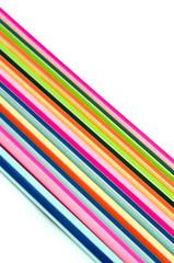 Diagonal of line multicolor