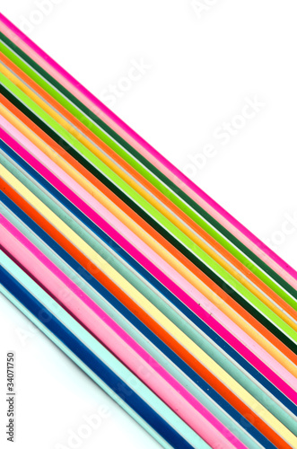 Diagonal of line multicolor