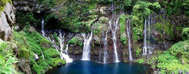 Cascades Grand Galet, Langevin, La Réunion.