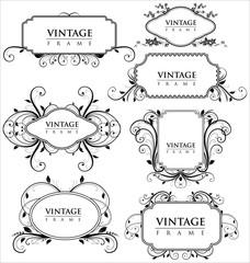 elegance vintage frames