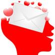 kopf - brief schreiben
