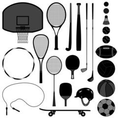 Sport Tool Basketball Tennis Baseball Volleyball Golf Ball