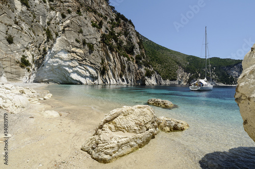 Atokos Island - Cliff Bay