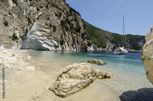 Atokos Island - Cliff Bay