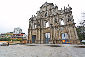 Cathedral of Saint Paul in Macau (Sao Paulo Church)