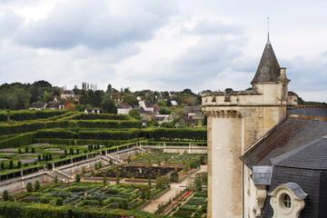 castle and gardens vilandry