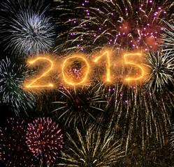 Jahreswechsel zu 2015