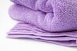 asciugamano viola