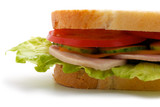 Part of the sandwich (horizontal)