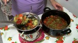 Passato di verdure-vegetable soup