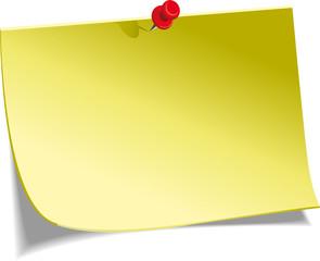 Post-it jaune (v1)