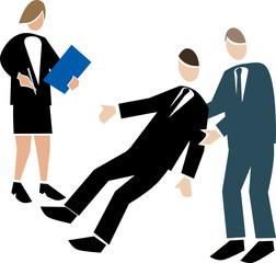 Symbolising business transparent white-assessing team activity