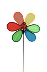 moulin à vent coccinelle pour enfant