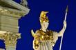 wien Parlament Detail der Statue