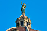 Wien Statue auf dem Kunsthistorischem Museum