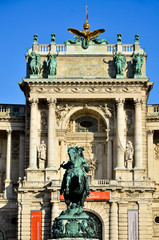 Wien Hofburg Hauptportal