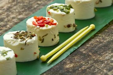 formaggio con spezie