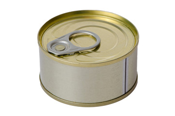Tuna fish tin can