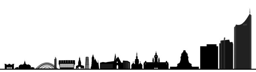 Leipzig Skyline Gebäude