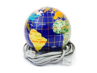 Globe and cable