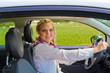 Beim Autofahren