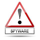 Señal peligro SPYWARE poster