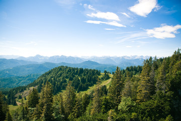 Berglandschaft  in Bayern