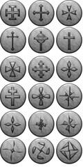 Iconos de cruces