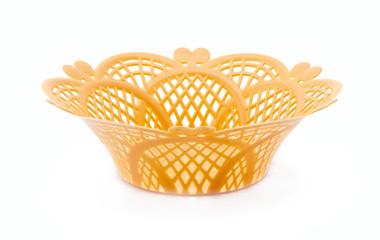 Yellow dish